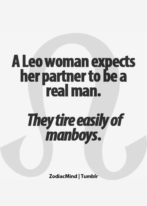 Leo woman wants a REAL man