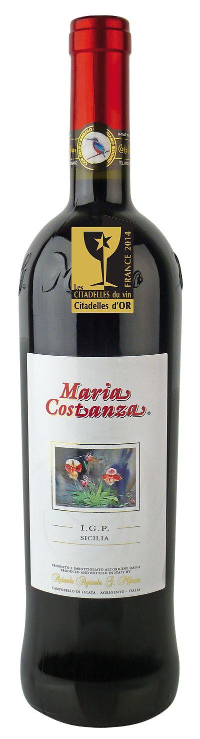 Con il Maria Costanza Rosso 2007 La Sicilia in testa: Prix Special Italie a Les Cittadelles du Vin