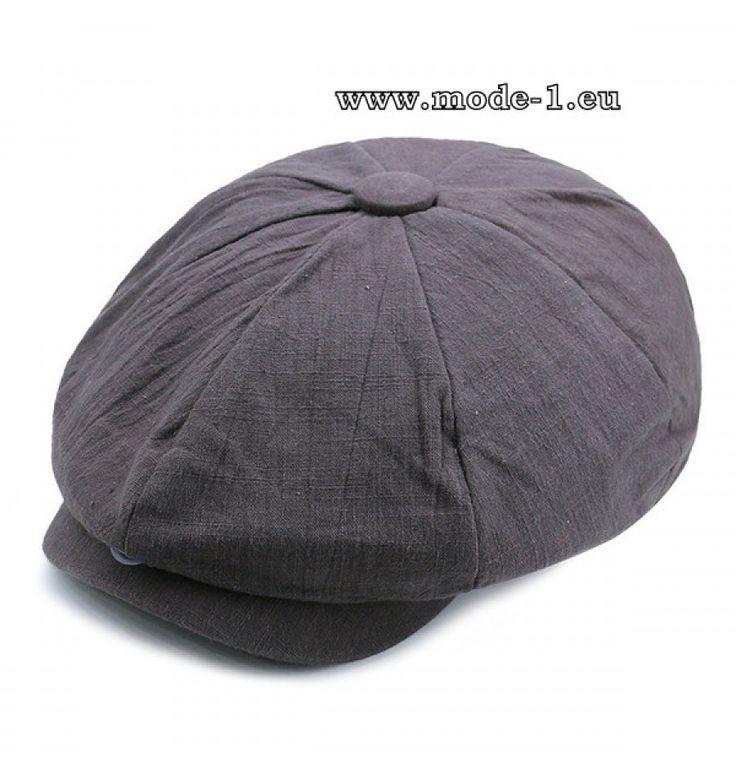 Herren Stetson Hut Schirmmütze in Silber Grau