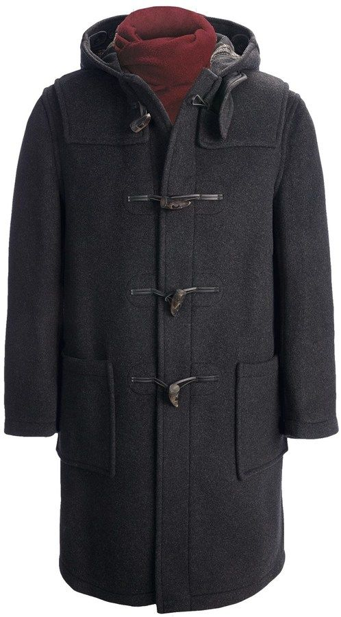 $334, Montgomery By John Partridge Classic Duffle Coat. Sold by Sierra Trading Post. Click for more info: http://lookastic.com/men/shop_items/112255/redirect