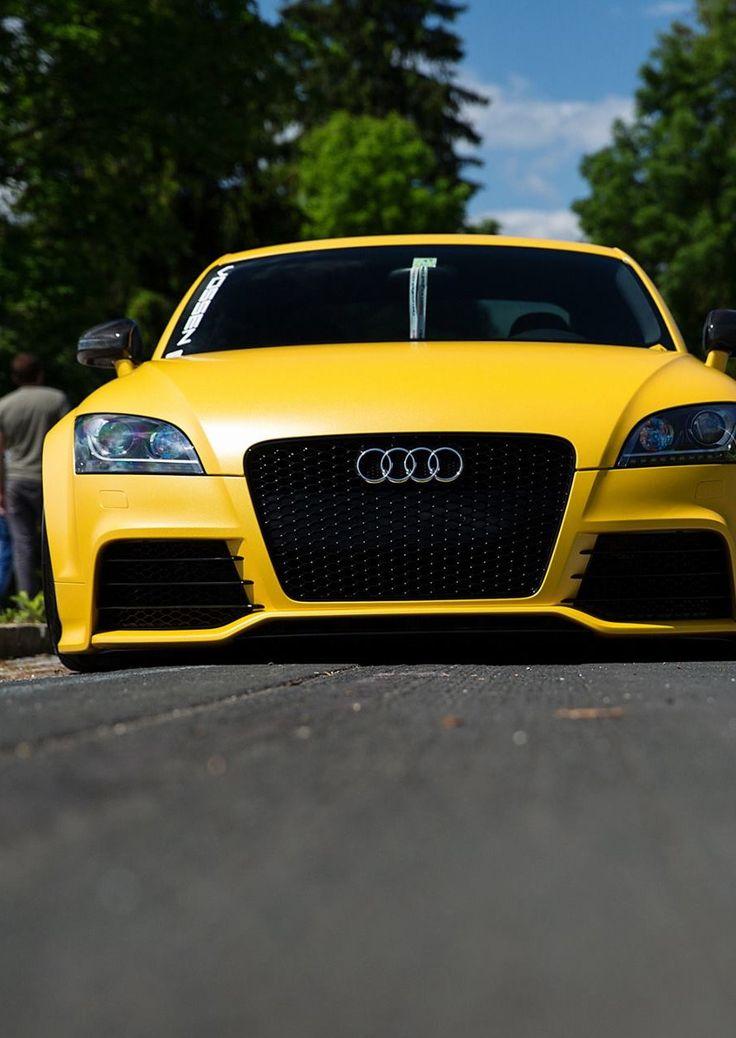 ◆ Visit ~ MACHINE Shop Café ◆ ❤ Best of Audi @ MACHINE... ❤ (Acid Yellow Audi TT RS Sportscar)
