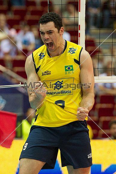 Theo Lopes of Brazil Volleyball Team | © Mariusz Pałczyński / MPAimages.com #volleyball #sportspeople