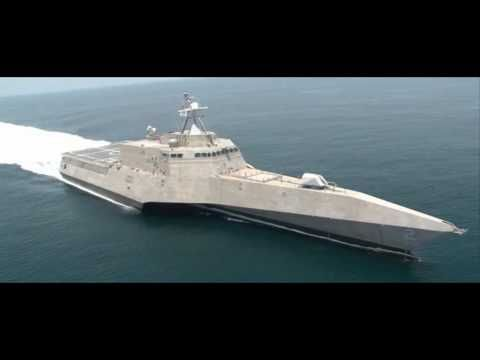 USS Independence (Littoral Combat Ship) LCS-2   One of the US Navy's new Littoral Combat Ships, the USS Independence LCS-2. Stealthy, trimaran, x-boat....nice! It has a twin too.