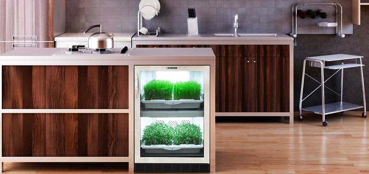 Grow fresh herbs, vegetables, microgreens in your own kitchen with Urban Cultivator Residential, an indoor kitchen garden system for any home and kitchen.