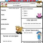 This classroom newsletter template is completely customizable.  2 full-color pages.  The font used is Kristen ITC, and can be reformatted if you li...