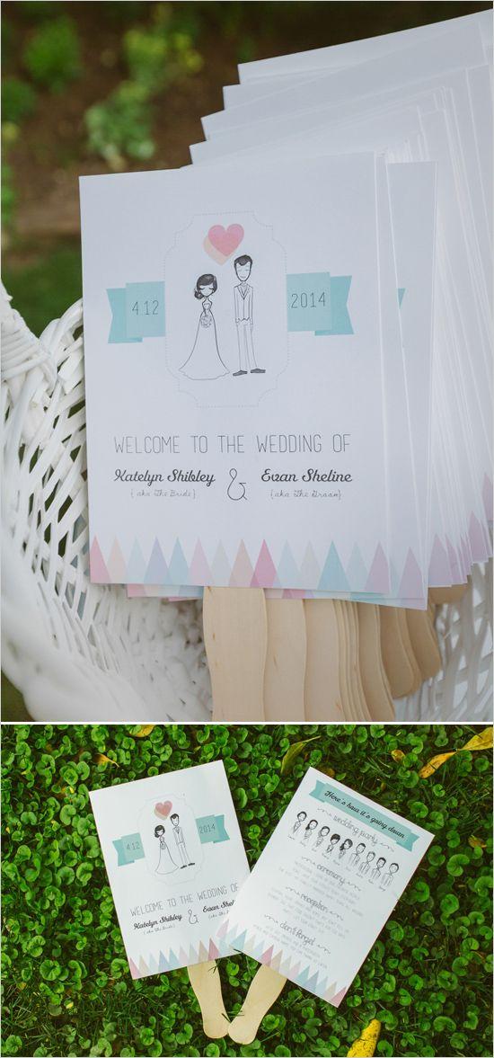 ~ we ❤ this! moncheribridals.com ~ #weddingprograms