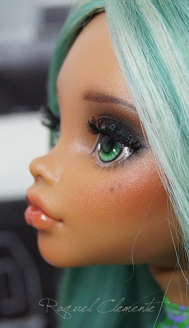 OOAK Monster high custom / repaint Clawdeen Wolf | Flickr - Photo Sharing!