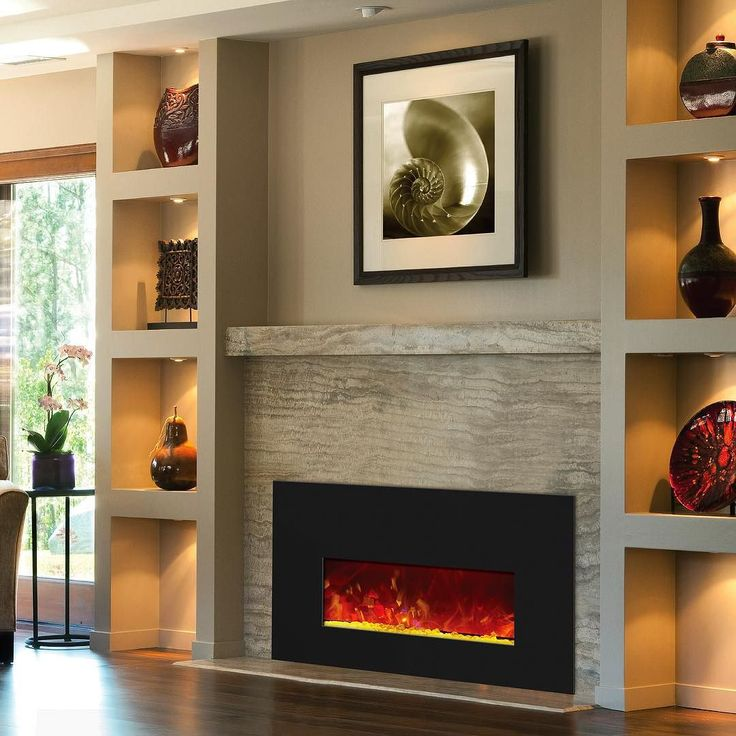 Designed As An Alternative For Wood Or Gas Inserts The