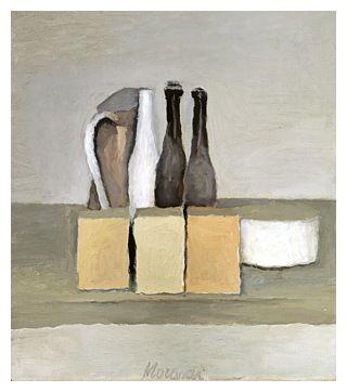 Giorgio Morandi (1890-1964) 'Natura Morta (Still Life)', 1956 (oil on canvas)