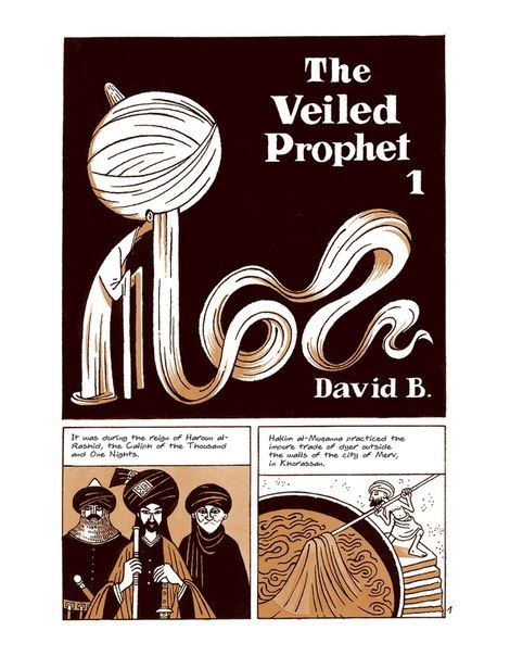 The Veiled Prophet by David B (1)