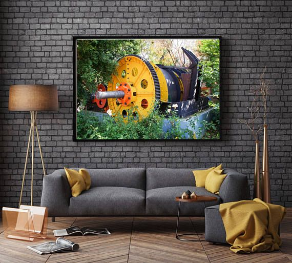 Printable Wall Art - Gold Reef City, Johannesburg, Printable Download Wall Art, Photograph, Canvas and Paper