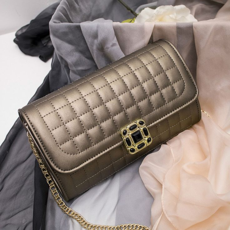 MONNET CAUTHY New Arrivals Women's Bag Solid Color Black #White Pink Grey #Flap Classic #Elegant #Socialite #Fashion #Crossbody #Bags