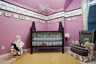 Eclectic Nursery - eclectic - kids - austin - True Interiors, LLC
