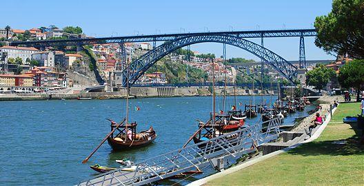 Pontes do Porto Ponte D. Luis I, obra de Eifel.