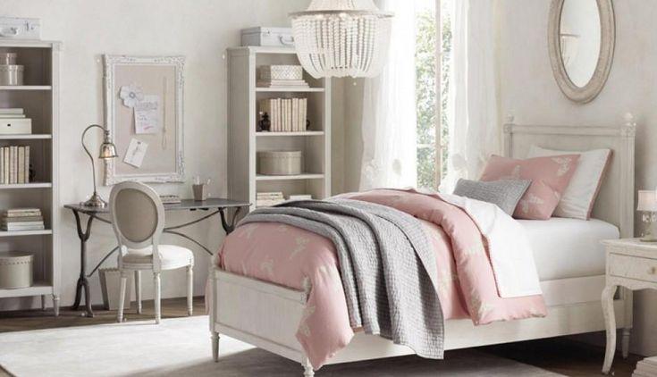 11 dormitorios rom nticos en tonos pastel para chicas for Decoracion de cuartos para mujeres
