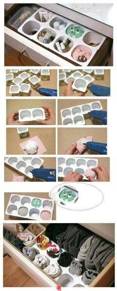 Caixas de iogurtes