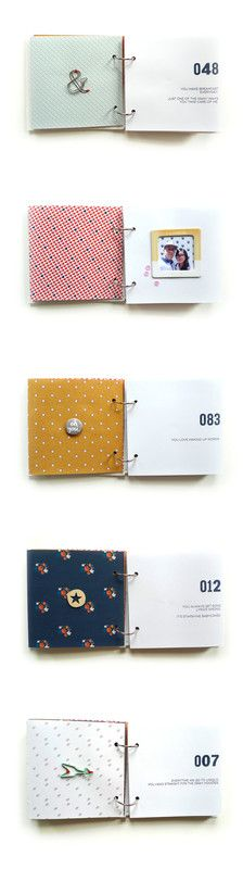 I Love You Because Mini Album - Part 2 by analogpaper at @studio_calico