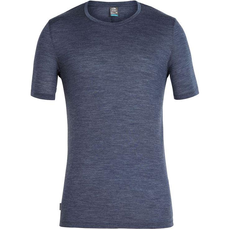 Icebreaker Solace Short-Sleeve Crew Shirt – Men's
