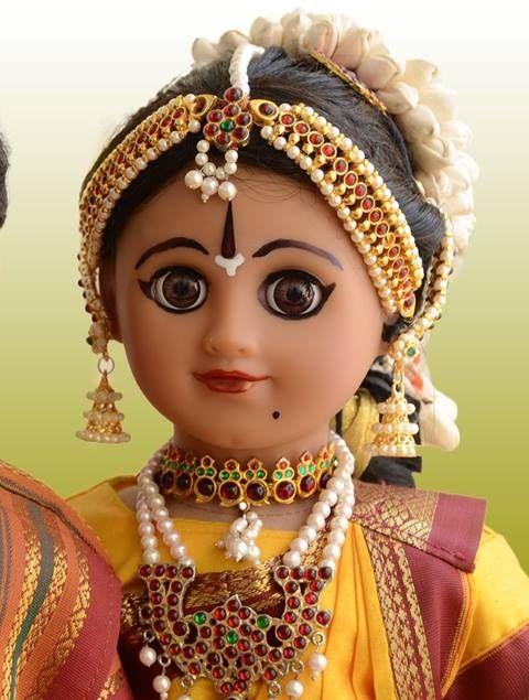 Indian Bharathanatyam Doll