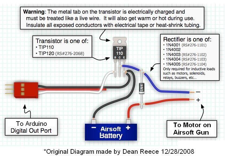 Aim Sight Airsoft Wiring Diagram