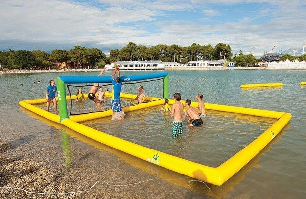 This Inflatable Volleyball Court | 22 Beach Products You Absolutely Need This Summer