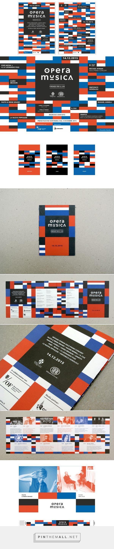 Opera musica on Behance - created via https://pinthemall.net