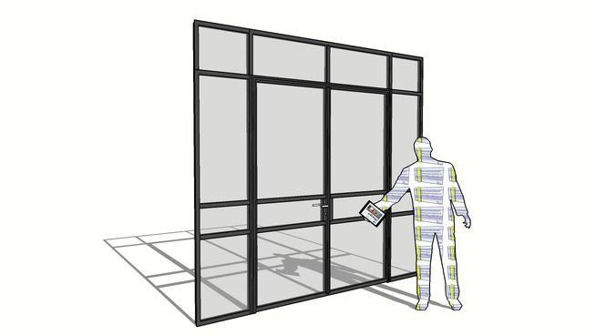 Double door art15 t1 0 ods jansen 3d warehouse cool for Door 3d warehouse