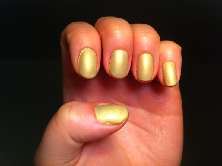 yellow matte nails - photo #24