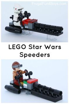 How to build LEGO Star Wars speeders - similar to BARC speeders in the Clone Wars