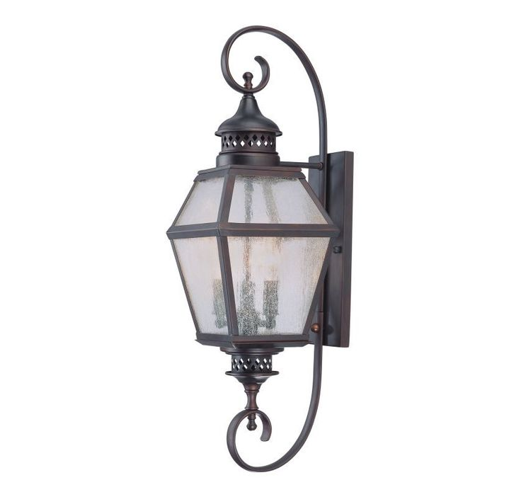 "Savoy House 5-773 Chiminea 3 Light 27.5"" Tall Outdoor Wall Sconce English Bronze Outdoor Lighting Wall Sconces Outdoor Wall Sconces"