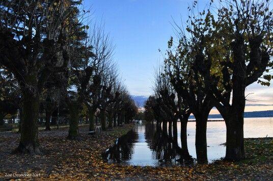 Lago esondato