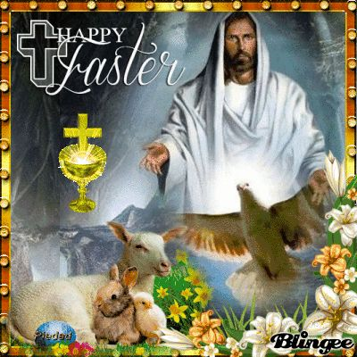 HAPPY EASTER  FRIEND. . . from Piedad5007