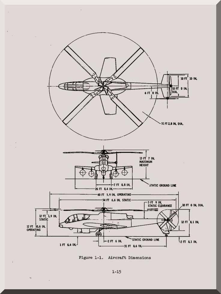 Lockheed AH-56 A Helicopter Preliminary Operational
