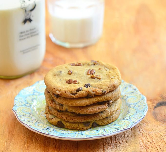 Caramel Pecan Chocolate Chip Cookies - Onion Rings & Things