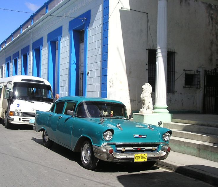 Cuba Travel Features An Old American Chevy Car - See more @gr8traveltips