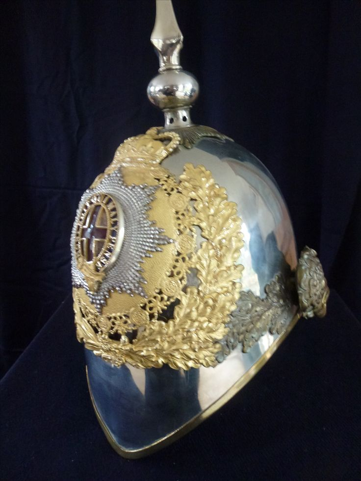 This is an officers present day Household Cavalry helmet