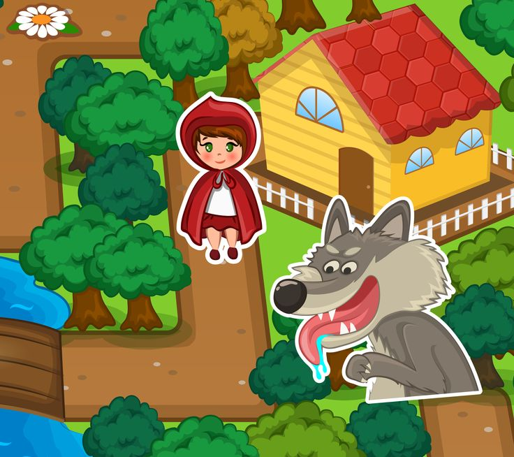 Red Riding Hood Adventures  http://www.enjoydressup.com/red-riding-hood-adventures?ref=notset