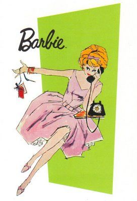 Vintage Barbie graphic