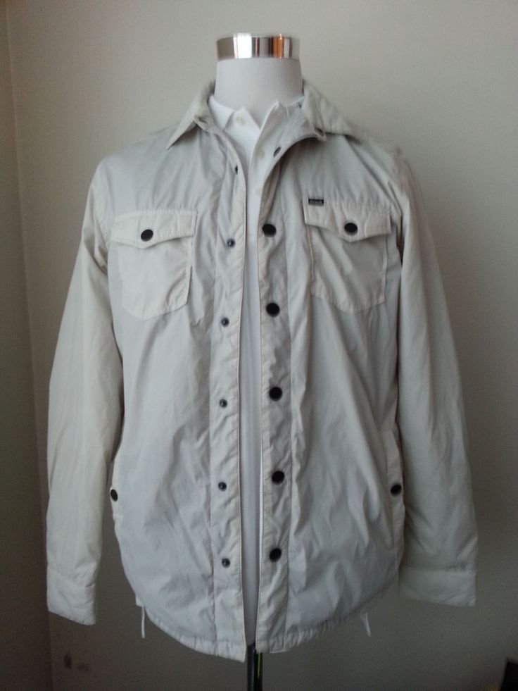 #men cloth ebay Hurley men's Size M White Fully Fleece Lined Windbreaker jacket new with tag withing our EBAY store at  http://stores.ebay.com/esquirestore