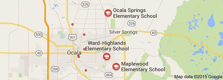 Map of elementary schools near me