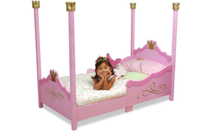 Princess Toddler Bed by Kidkraft