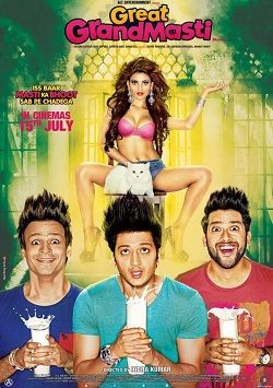 Great Grand Masti Full Movie Direct Download free with high quality audio and video HD, DVD-rip, Blu-ray 720p, 1080p on your device as your required formats - https://onlinemoviedownloadsite.blogspot.com/