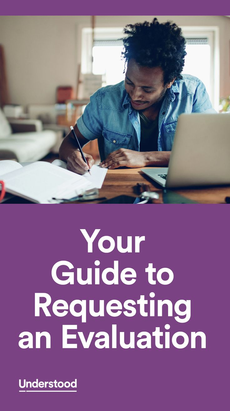 Once you've made the decision to have your child evaluated, you'll need to get the process rolling. It starts with a formal request letter from you. The process is fairly simple, even though it's formal. And there aresteps you can take ahead of timeto get prepared.