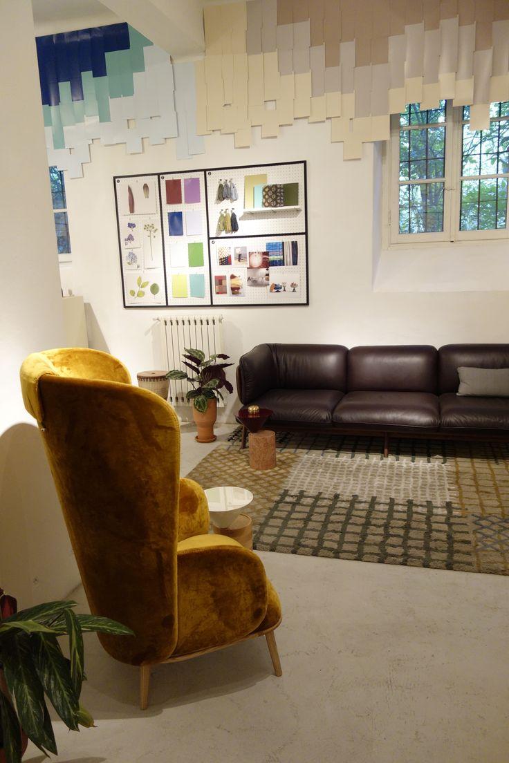 Col-our exhibition by Nichetto Studio with NCS colours, De La Espada and Triton at Milan Design Week 2015