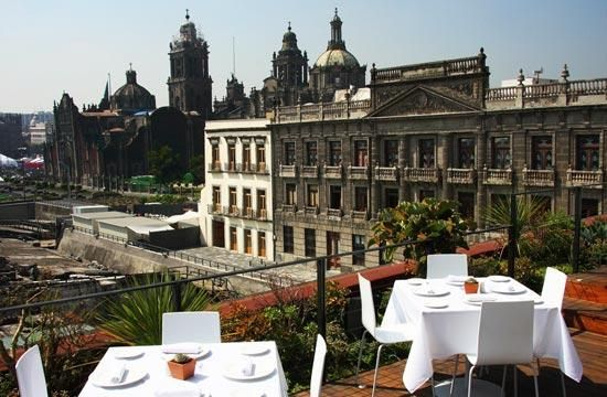 El Mayor, Restaurant. One of the best views of the Zocalo.