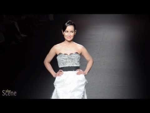 Ann Thongprasom @ Tube Gallery Fashion Show, Bangkok International Fashion Week, March 2011.  Movie by Paul Hutton, Bangkok Scene.
