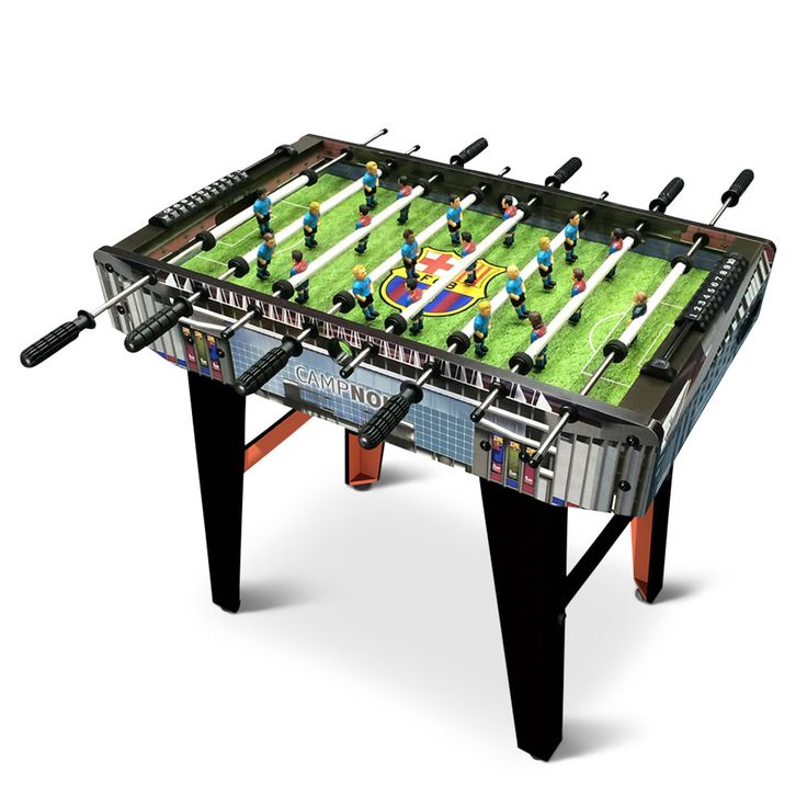 The Choose Your Iconic Teams Foosball Table   Hammacher Schlemmer