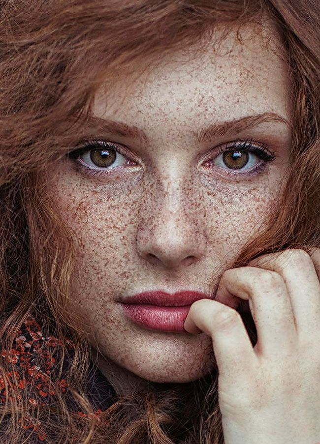 Beautiful Redhead Female Portraits by Maja Topčagić