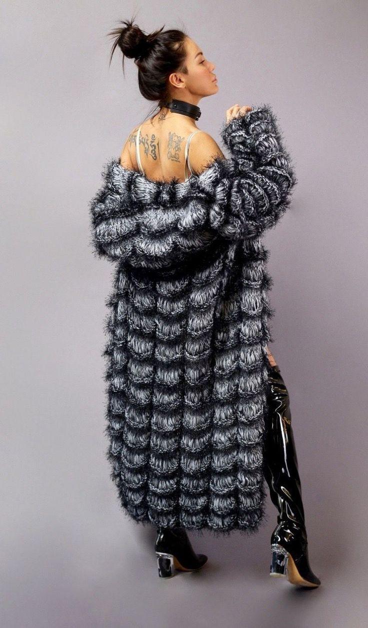 Crocheted Cardigan | Вязаный крючком кардиган