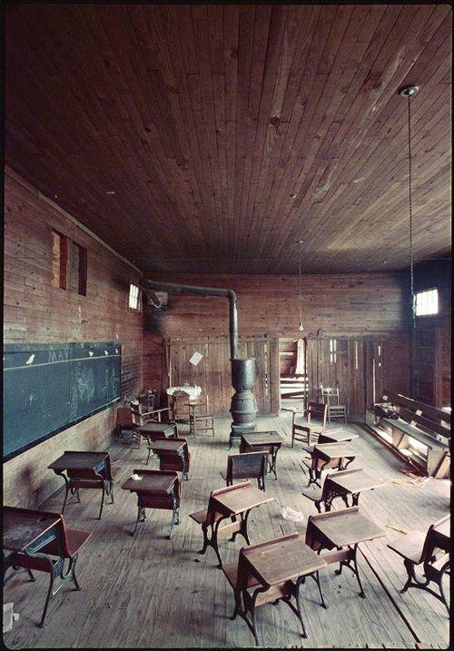Gordon Parks, Black classroom, Mobile, Alabama, 1956, (1956) / via Art Ruby